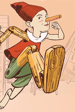 Pinocchio, ou l'histoire d'un pantin réfractaire : les premières