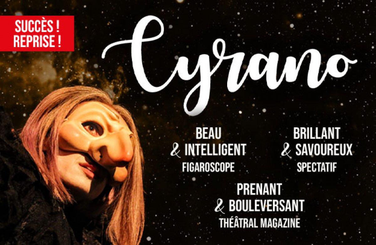 Succès ! Reprise ! Cyrano est de retour au Funambule !